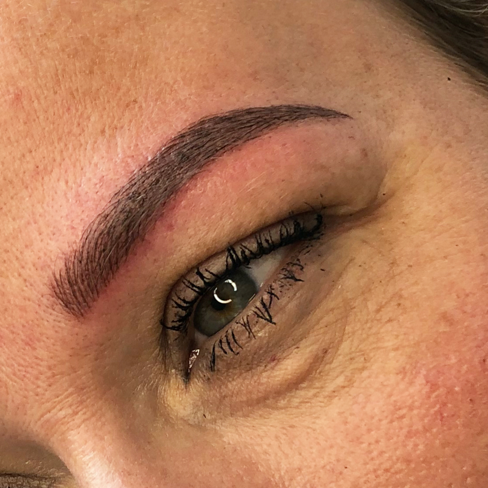 Resultaat microblading 2 na